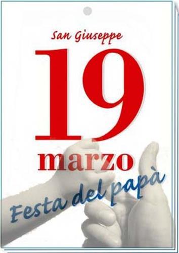 2580 festa del papa2 March 19th   Fathers Day.